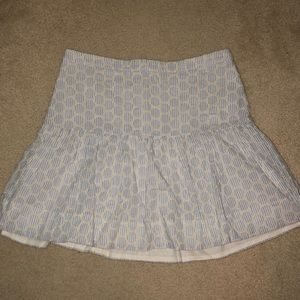 J-Crew Pin Stripe Skirt